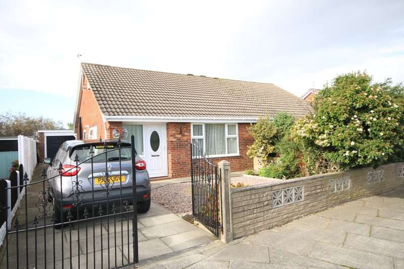 2 Bedrooms Semi Detached Bungalow for sale in Seaton Way, Marshside, Southport