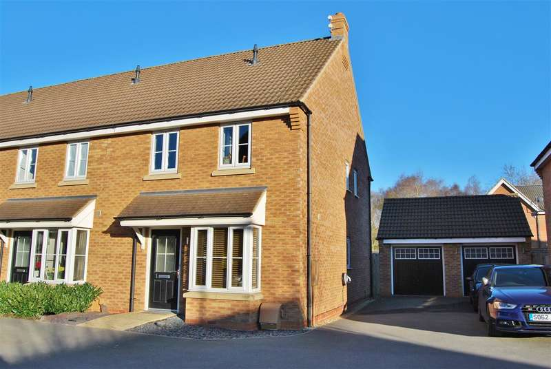 3 Bedrooms End Of Terrace House for sale in Red Kite View, Calvert Green