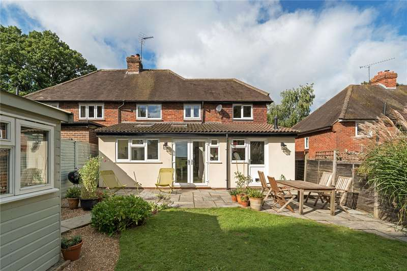 4 Bedrooms Semi Detached House for sale in Homefield Cottages, Highfield Lane, Thursley, Godalming, GU8
