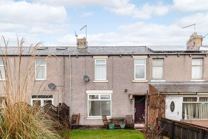 2 Bedrooms Terraced House for sale in Henley Square, Morpeth, Northumberland, NE61 5XU