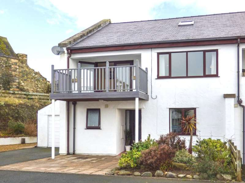 4 Bedrooms Semi Detached House for sale in Cae Du Estate, Pwllheli, Wales, LL53
