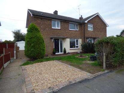 3 Bedrooms Semi Detached House for sale in Egmanton Road, Meden Vale, Mansfield, Nottinghamshire
