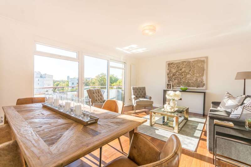 2 Bedrooms Flat for sale in Clifton Place, Hyde Park Estate, W2