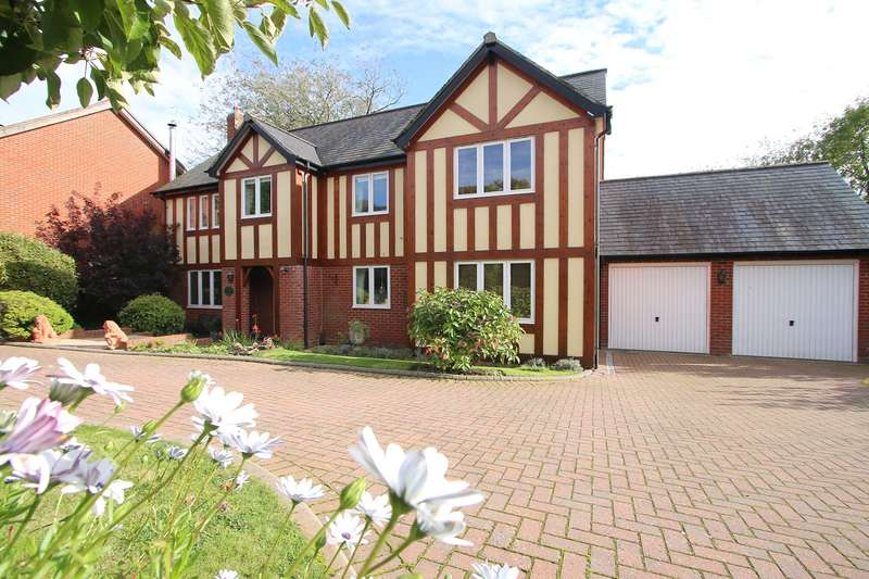 4 Bedrooms Detached House for sale in Mill Pool Place, Cleobury Mortimer, Kidderminster, DY14