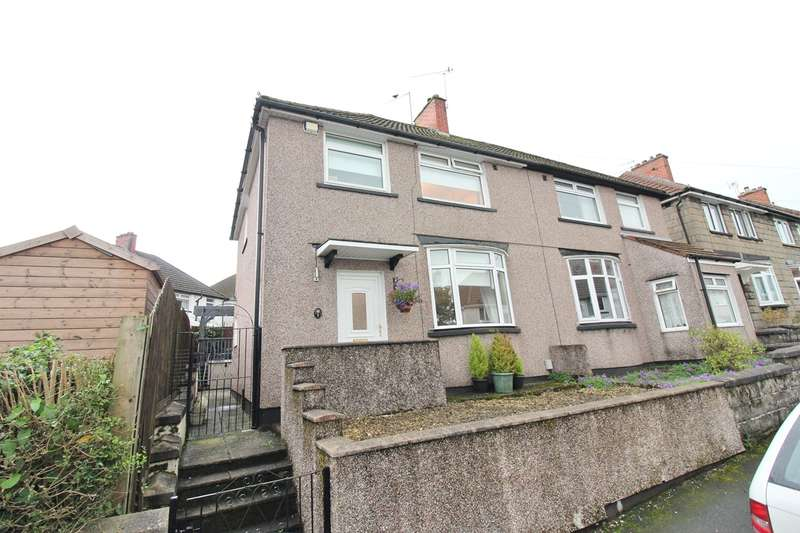 3 Bedrooms Semi Detached House for sale in Gaer Park Avenue, Newport, NP20