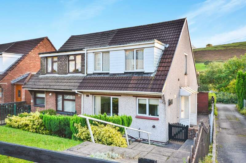 3 Bedrooms Semi Detached House for sale in Graig Y Fedw, Abertridwr, Caerphilly, CF83