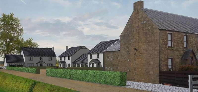 4 Bedrooms Detached House for sale in Plot 3 North Barns , Bankfoot, Perthshire, PH1 4DZ