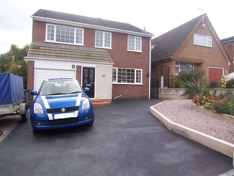 4 Bedrooms Detached House for sale in Hands Road, Heanor