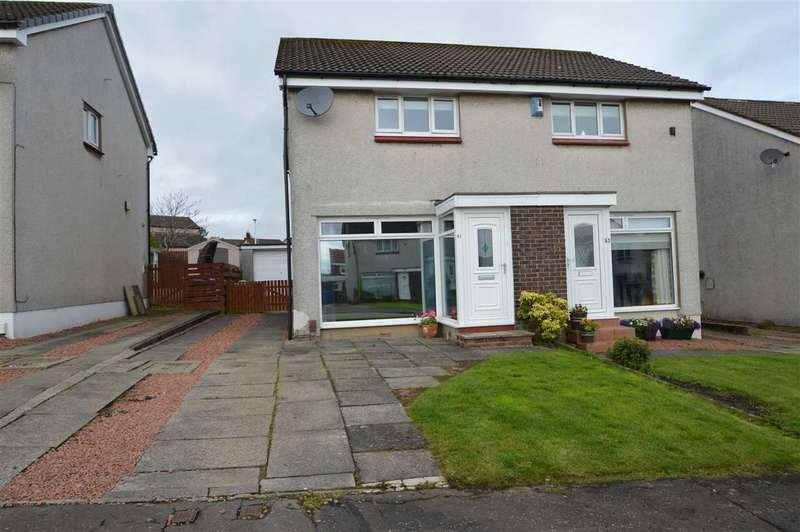 2 Bedrooms Semi Detached House for sale in Mossdale Gardens, Hamilton