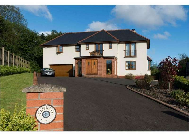 4 Bedrooms Detached House for sale in Cefn Mably Road, Lisvane, Cardiff