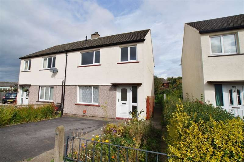 3 Bedrooms Semi Detached House for sale in CA5 6PS Shawk Crescent, Thursby, Carlisle