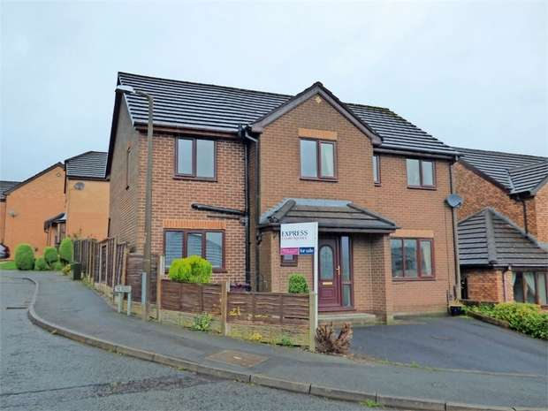 5 Bedrooms Detached House for sale in Wellfield Drive, Burnley, Lancashire