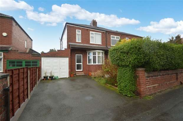 3 Bedrooms Detached House for sale in Woodfield Avenue, Bredbury, Stockport, Cheshire