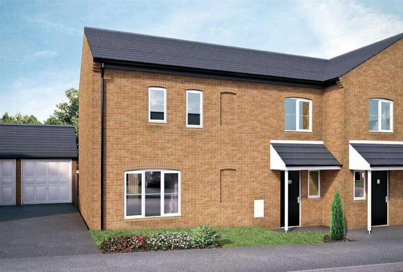 3 Bedrooms Semi Detached House for sale in Beckfield, Colburn, Catterick Garrison