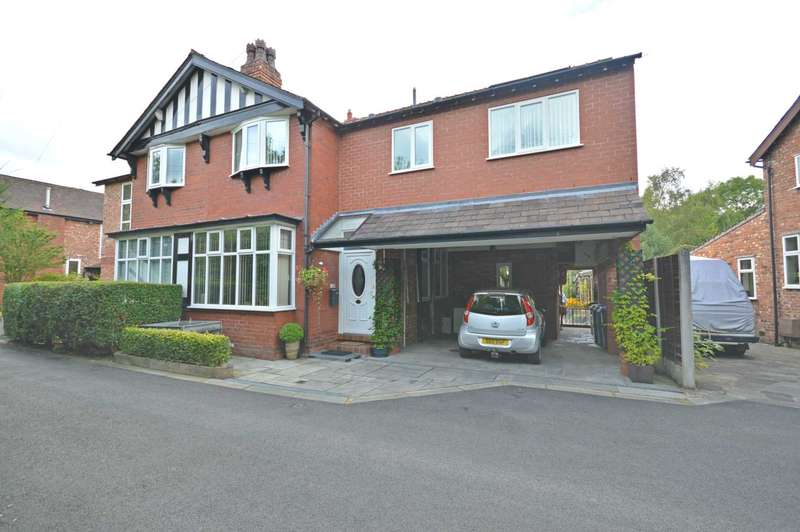 4 Bedrooms Semi Detached House for sale in Jesmond Grove, Cheadle Hulme