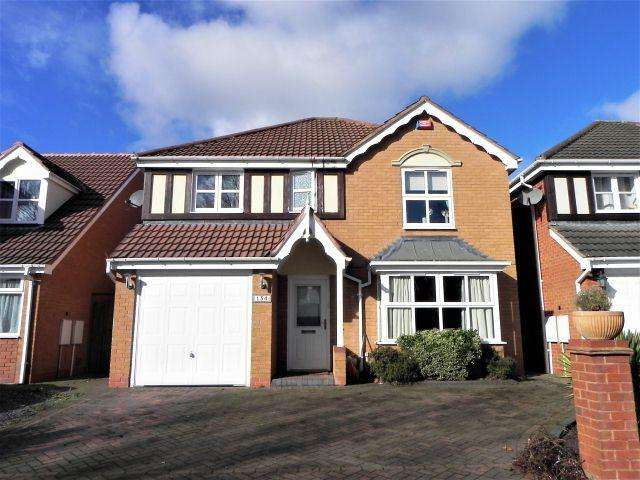 4 Bedrooms Detached House for sale in Paget Road,Pype Hayes,Birmingham