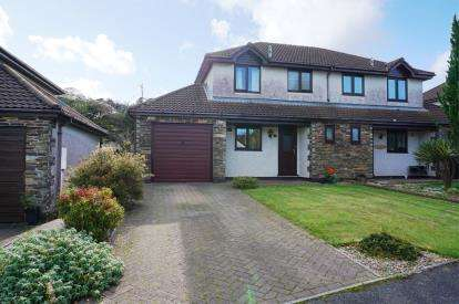 3 Bedrooms Semi Detached House for sale in Roche, St Austell, Cornwall