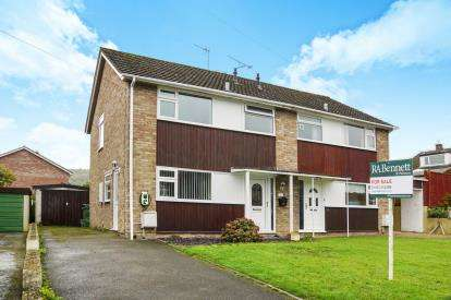 3 Bedrooms Semi Detached House for sale in Tennyson Road, Dursley, Gloucestershire, England