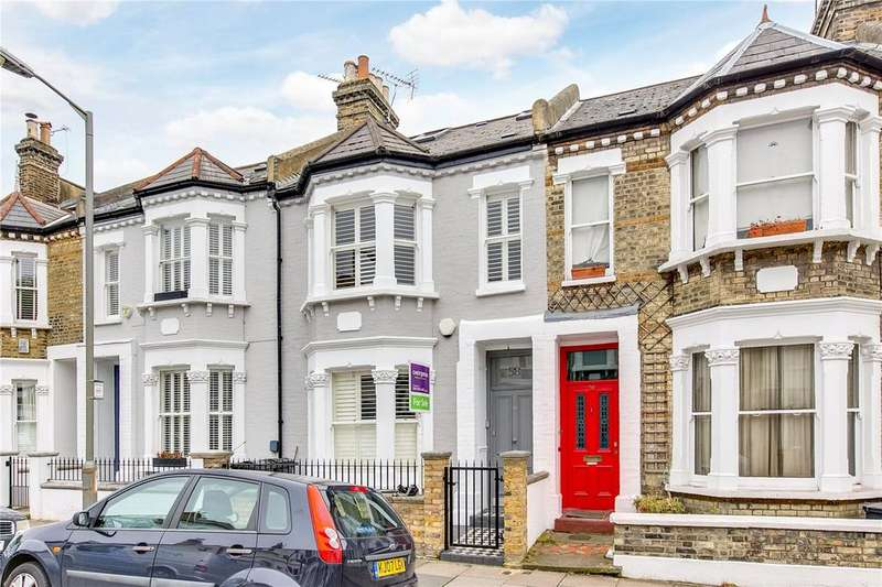 4 Bedrooms Terraced House for sale in Leathwaite Road, Battersea, London