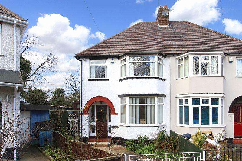 3 Bedrooms Semi Detached House for sale in WHITMORE REANS, Kenton Avenue