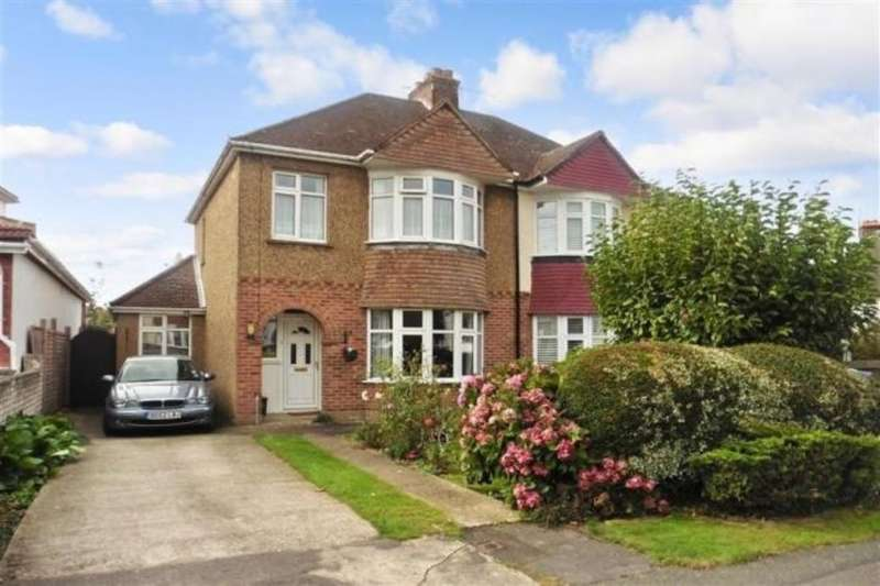 3 Bedrooms Semi Detached House for sale in Holtye Crescent, Maidstone, ME15