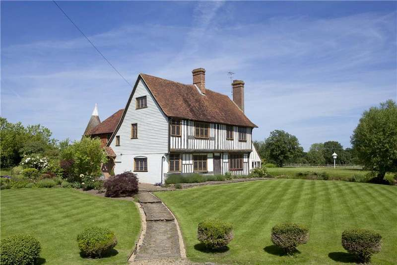 9 Bedrooms Farm House Character Property for sale in Waller Hill, Frittenden, Cranbrook, Kent, TN17