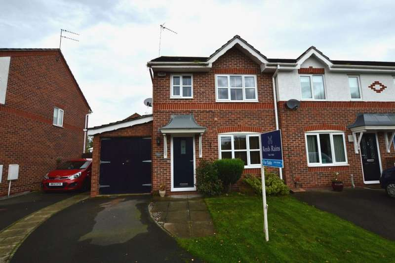 3 Bedrooms Semi Detached House for sale in Rosewood Drive, Winsford, CW7