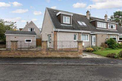3 Bedrooms Semi Detached House for sale in Paterson Place, Bridge of Allan