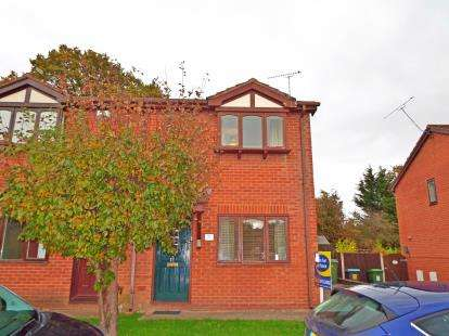 2 Bedrooms Semi Detached House for sale in Glascoed Way, Summerhill, Wrexham, LL11