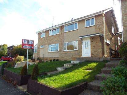 3 Bedrooms Semi Detached House for sale in Chase Avenue, Cheltenham, Gloucrestershire