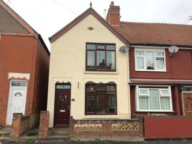 2 Bedrooms End Of Terrace House for sale in Clifton Road, Nuneaton