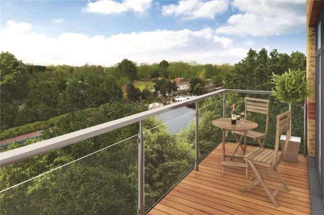 1 Bedroom Apartment Flat for sale in Union Park, Packet Boat Lane, Uxbridge, Middlesex, UB8