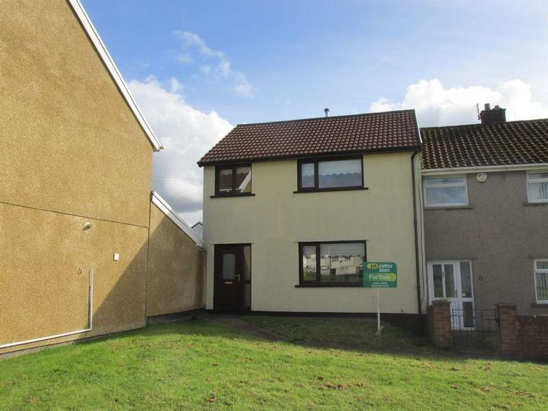 3 Bedrooms End Of Terrace House for sale in Fir Tree Close, Gurnos, Merthyr Tydfil