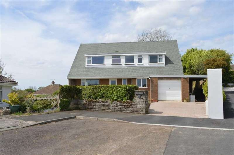 5 Bedrooms Detached House for sale in Hillcrest, Langland, Swansea