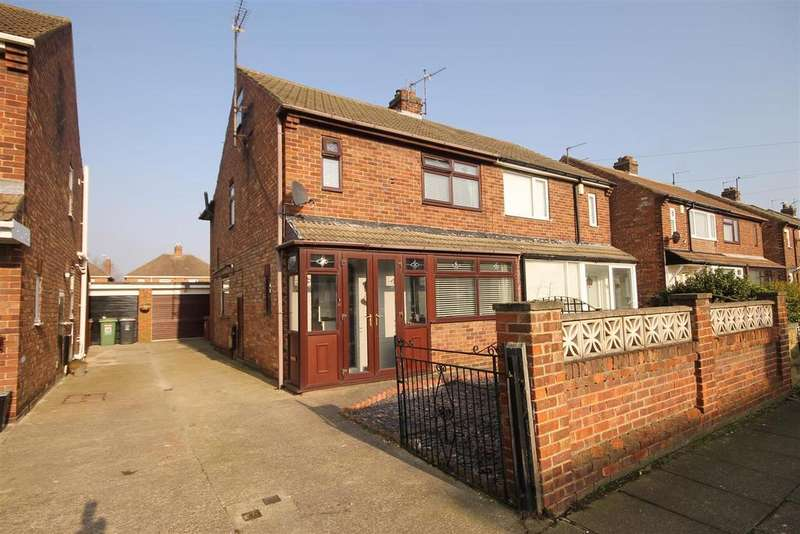 3 Bedrooms Semi Detached House for sale in Mardale Avenue, Hartlepool
