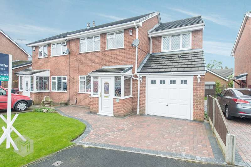 4 Bedrooms Semi Detached House for sale in Kennet Close, Westhoughton, Bolton, BL5