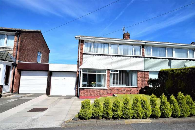 3 Bedrooms Semi Detached House for sale in Sevenoaks Drive, Hastings Hill, Sunderland