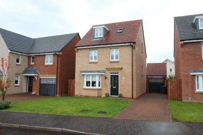 4 Bedrooms Detached House for sale in Earls Bridge Gardens, Irvine, North Ayrshire