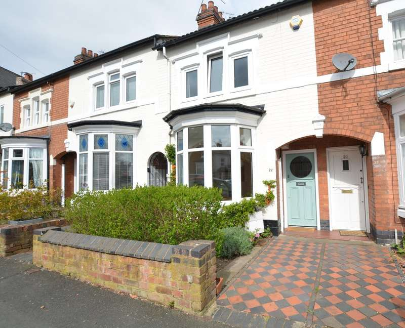 3 Bedrooms Terraced House for sale in Station Road, Harborne