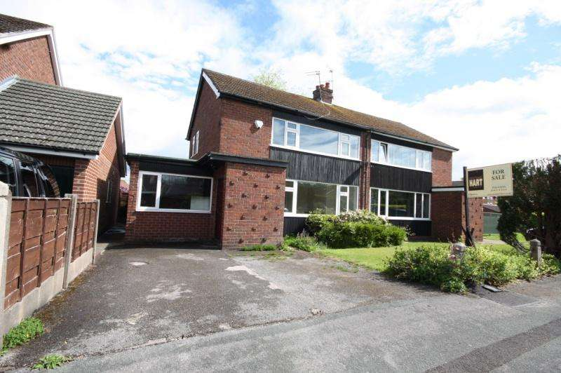 3 Bedrooms Semi Detached House for sale in Covell Road, Poynton, SK12