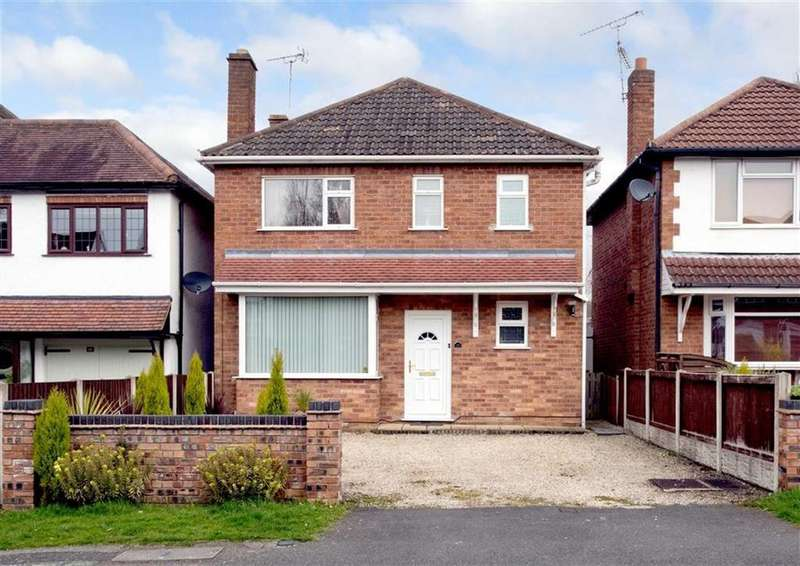 3 Bedrooms Detached House for sale in 16, Meadow Road, Finchfield, Wolverhampton, West Midlands, WV3