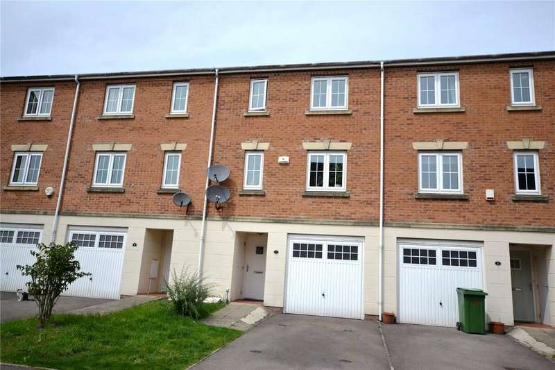 4 Bedrooms Town House for sale in Tasker Square, Llanishen, Cardiff, CF14