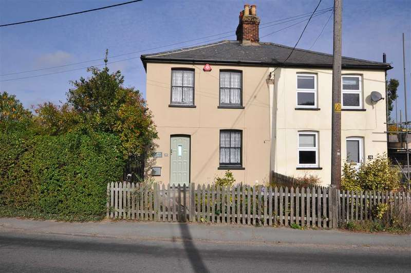 2 Bedrooms Semi Detached House for sale in Weeley Road, Little Clacton