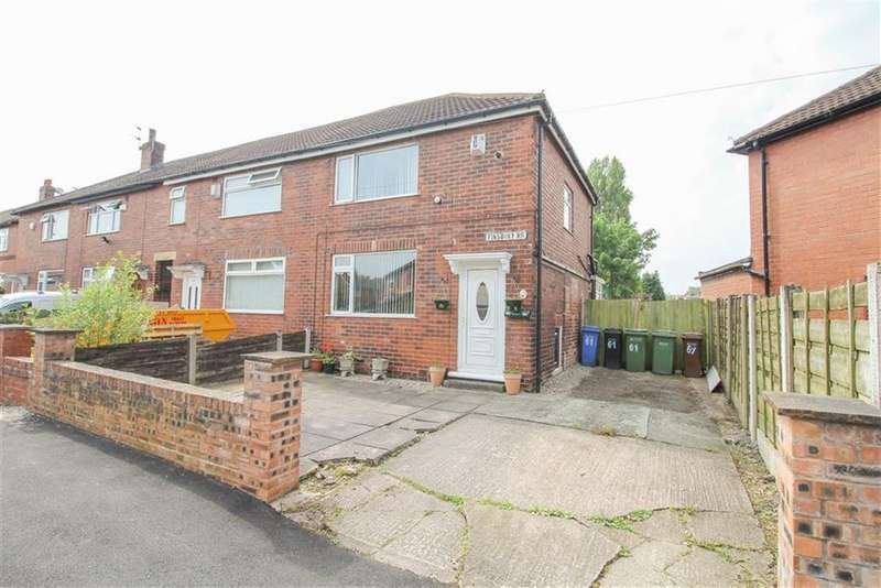 2 Bedrooms Semi Detached House for sale in Finsbury Road, Reddish, Stockport