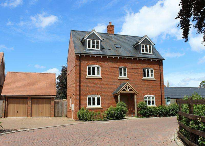 4 Bedrooms Detached House for sale in Woodlands Brook, Wantage