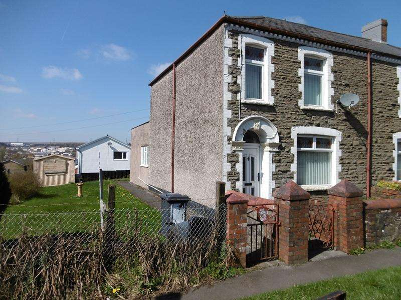 3 Bedrooms End Of Terrace House for sale in Rose Terrace, Beaufort, Ebbw Vale, Blaenau Gwent.