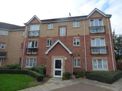 2 Bedrooms Flat for sale in Shankley Way, St. James, Northampton, Northamptonshire
