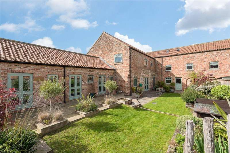 5 Bedrooms Barn Conversion Character Property for sale in Marsland Barn, Sharow, Ripon, North Yorkshire