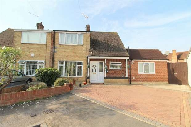 5 Bedrooms Semi Detached House for sale in Deridene Close, Stanwell, Middlesex