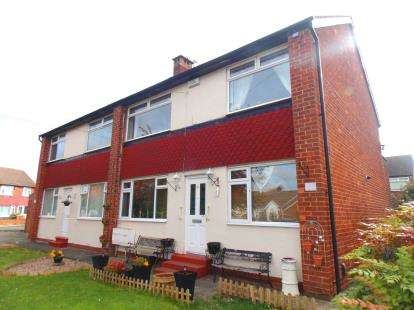 2 Bedrooms Flat for sale in Otterburn Gardens, Brookfield, Middlesbrough